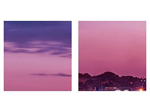 Bilder Leuchtturm Türkei Wandbild 200 x 100 cm Vlies - Leinwand Bild XXL Format Wandbilder Wohnzimmer Wohnung Deko Kunstdrucke Violett 5 Teilig - MADE IN GERMANY - Fertig zum Aufhängen 604851b - 7