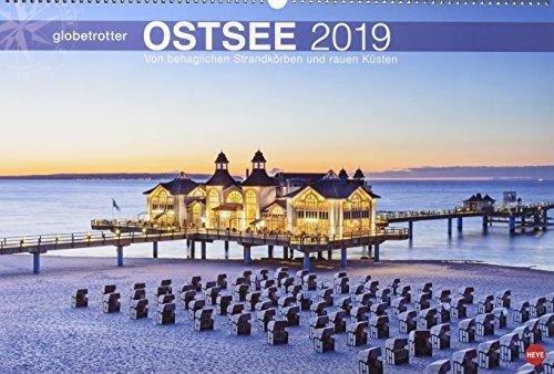 Ostsee Globetrotter - Von behaglichen Strandkörben und rauen Küsten - Kalender 2019