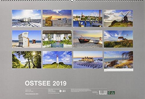 Ostsee Globetrotter - Von behaglichen Strandkörben und rauen Küsten - Kalender 2019 - 2