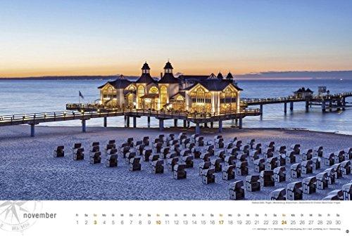 Ostsee Globetrotter - Von behaglichen Strandkörben und rauen Küsten - Kalender 2019 - 13