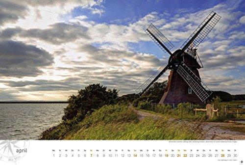 Ostsee Globetrotter - Von behaglichen Strandkörben und rauen Küsten - Kalender 2019 - 6