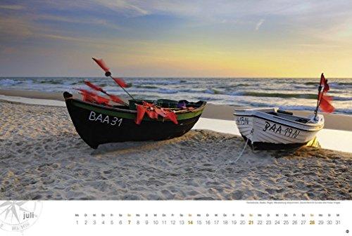 Ostsee Globetrotter - Von behaglichen Strandkörben und rauen Küsten - Kalender 2019 - 9