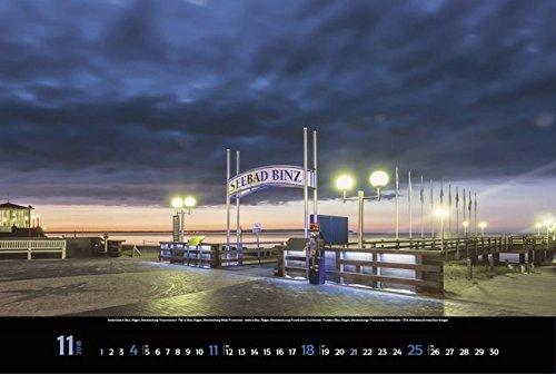 Meerblicke - Nord- und Ostsee 2018: Großer Foto-Wandkalender von der Küste und dem Meer in Deutschland. Edler schwarzer Hintergrund und Foliendeckblatt. PhotoArt Panorama Querformat: 58x39 cm. - 12