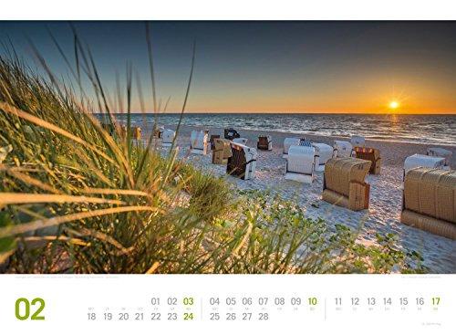 Ostsee ReiseLust 2019, Wandkalender im Querformat (45x33 cm) - Reisekalender Meer und Küste mit Monatskalendarium - 4