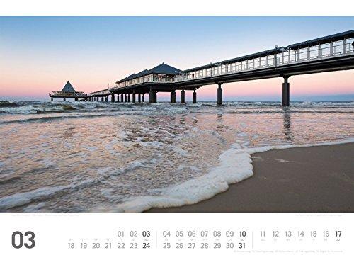 Ostsee ReiseLust 2019, Wandkalender im Querformat (45x33 cm) - Reisekalender Meer und Küste mit Monatskalendarium - 5