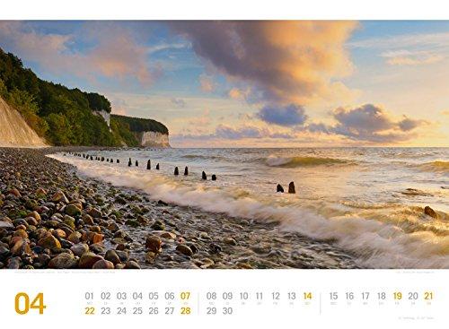 Ostsee ReiseLust 2019, Wandkalender im Querformat (45x33 cm) - Reisekalender Meer und Küste mit Monatskalendarium - 6