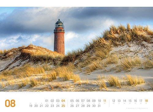 Ostsee ReiseLust 2019, Wandkalender im Querformat (45x33 cm) - Reisekalender Meer und Küste mit Monatskalendarium - 10