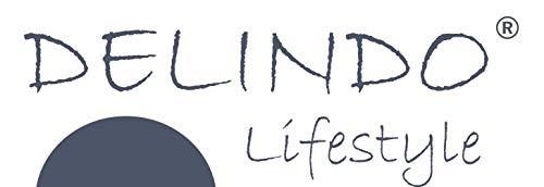Delindo Lifestyle® Kuscheldecke Nautic BLAU, Microfaser Fleece-Decke in 150x200 cm, flauschig weiche Maritime Wohndecke für Erwachsene und Kinder - 4
