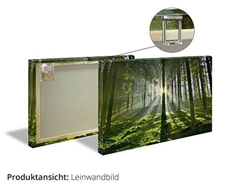 Artland Qualitätsbilder I Bild auf Leinwand Leinwandbilder Wandbilder 60 x 40 cm Landschaften Küste Foto Blau C6LR Winter an der Küste der Ostsee - 2