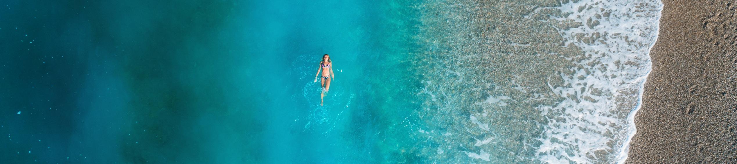 In der Ostsee schwimmen - Rund um die Ostsee