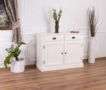 Kommode Anrichte Küchenmöbel Massivholz über 40 Farben auswählbar Landhausmöb...