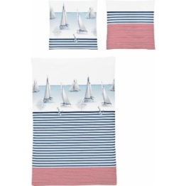 Bettwäsche Calypso 8089 Irisette, blau, Neutral, maritim