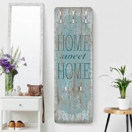 Bilderwelten Garderobe »Sweet Home«, Blau