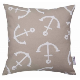 HOMING Kissenhüllen »ANCHOR«, , beige